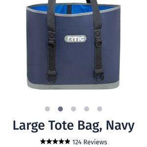 RTIC TOTE BAG NAVY